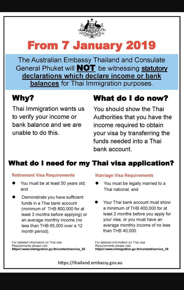 Attention UK, US, AUS - Assist Thai Visa are Chiang mai's